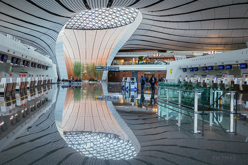 Photo: Daxing Airport 北京大兴机场, by Thomas_Yung