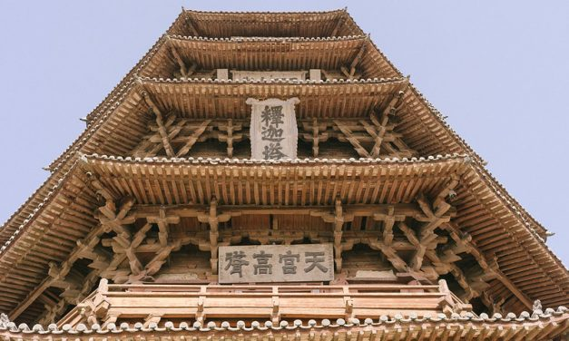 Photo: Shanxi architecture – Pagoda of Fogong Temple, by Megan Wong