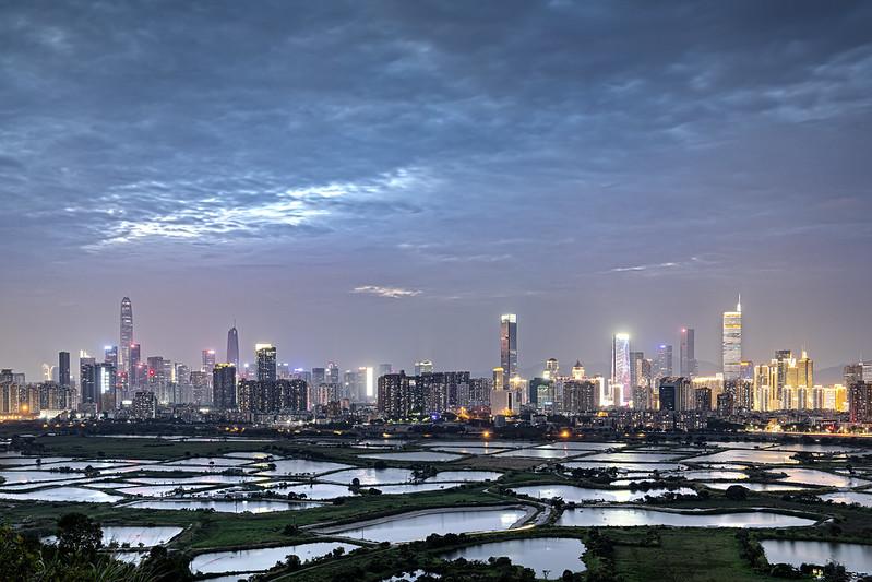Photo: Night at Ma Tso Lung, Hong Kong, by johnlsl