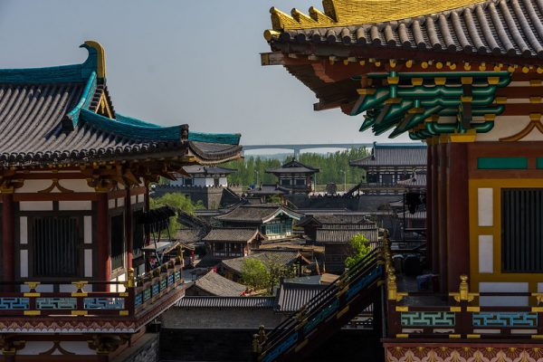 Photo: Xiangyang Tangcheng Film and Television Base, film scenery, by tom_stromer