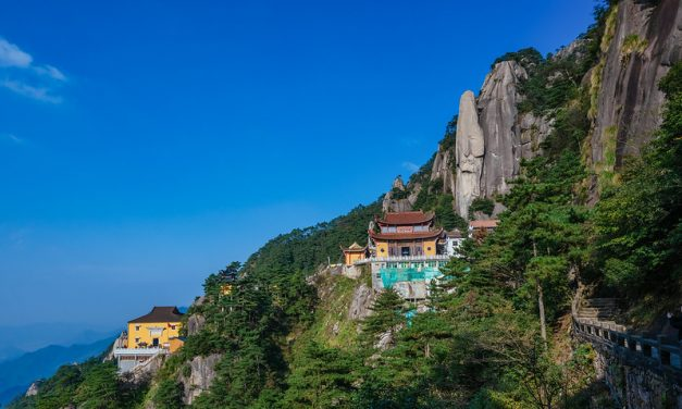 Photo: 九华山 [Mount Jiuhua, Anhui Province], by Thomas_Yung