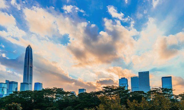 Photo: Sunset time, Shenzhen CBD, by Thomas_Yung
